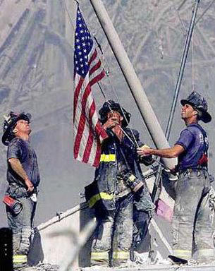 Twin Towers, America Under Attack, firefighters of 9-11, New York City, Pentagon