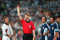 Beckham's Red Card