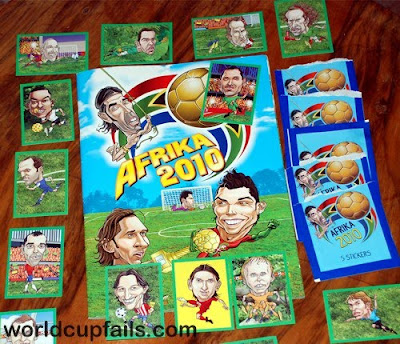 Unofficial World Cup stickers