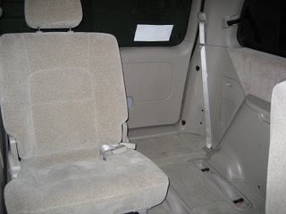Missing Kia Sedona Seat