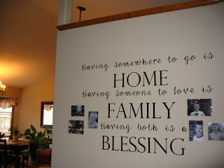Home-Family Blessing from A Simple Impression