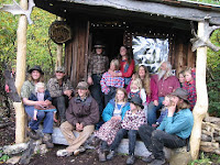 Papa Pilgrim and Family in McCarthy, Alaska