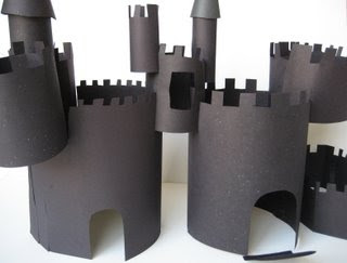Construction Paper Castle Craft