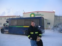 Andrew in Barrow, Alaska
