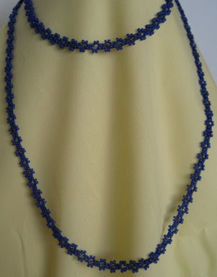 Beaded Necklace by Bine