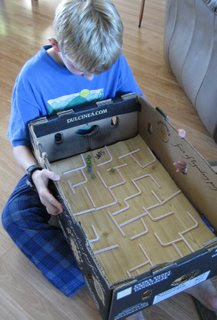 Box Top Mazes