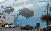 Wyland Whaling Wall in Anchorage, Alaska