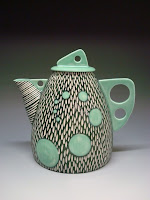 Shoshona Snow Ceramics Teapot