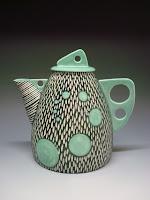 Shoshona Snow Ceramics Teapot