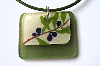 Jewelry by Jessica Olive Branch Pendant