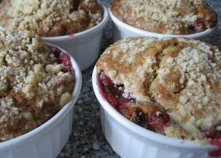 Rhubarb Crumble
