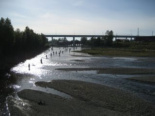 Ship Creek in Anchorage, Alaska