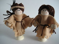 Native American Clothespin Dolls