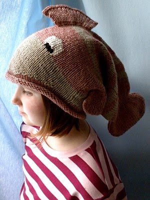 Knit Fish Hat