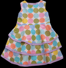 Pastel Dot Miko Dress by Starlooks Boutique