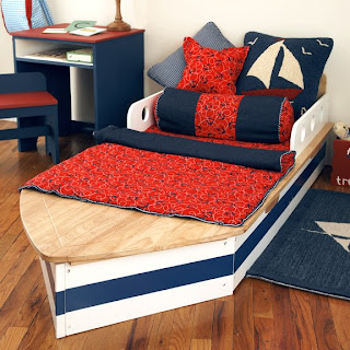Nautical Crib Theme from Warm Biscuit Bedding Company