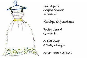 Wedding Invitations by Karen Cole Paper