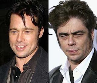 Brad Pitt and Benicio del Toro