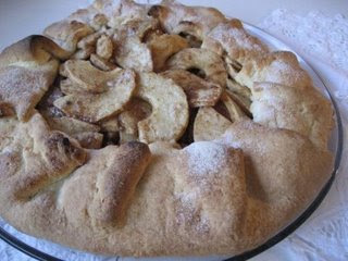 Apple Galette with the World's Easiest Pie Crust