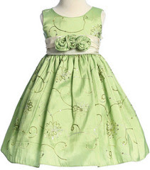 Apple Green Taffeta from Starlooks Boutique