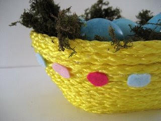 Coiled Rope Easter Basket