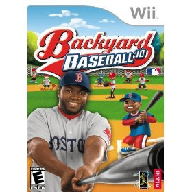 2010 Nintendo Wii Backyard Baseball Game