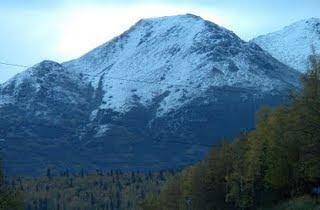 Snowfall in Alaska