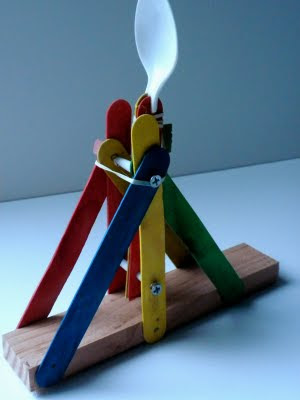 popsicle sticks hot glue