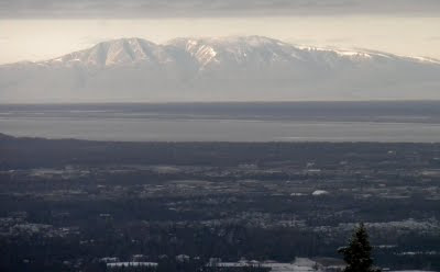 Mt. Susitna in Anchorage Alaska