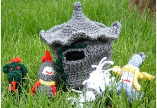 Crocheted Castle
