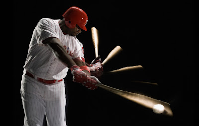 Ryan Howard's swing