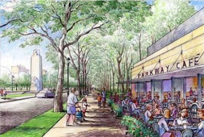 Parkway Cafe rendering