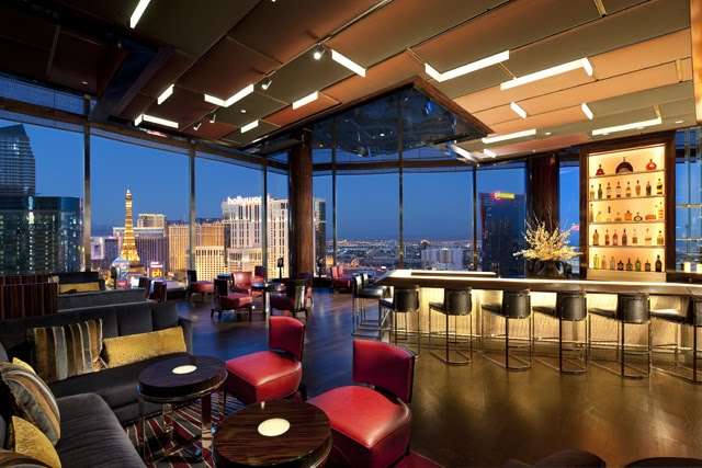 mandarin bar at the mandarin oriental in las vegas