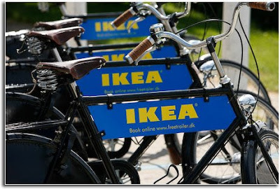 ikea bike share copenhage