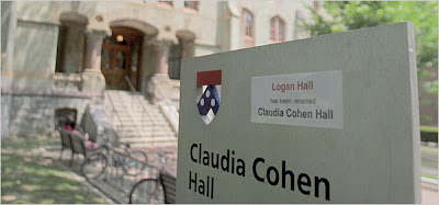 logan hall is now claudia cohen hall at the university of pennsylvania in philadelphia