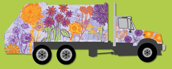 philadelphia recycling truck