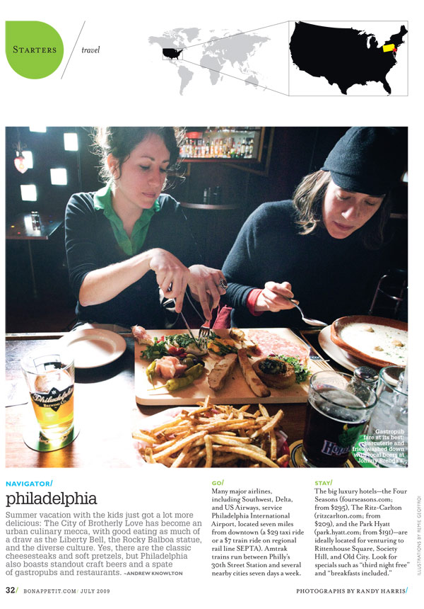 Philadelphia In The July Issue Of Bon Appétit