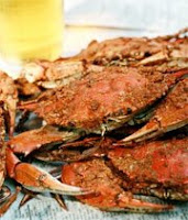crabs and beer