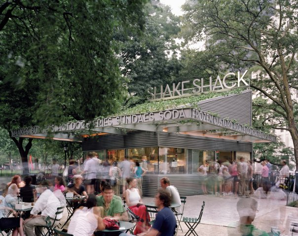shake shack in madison square park new york city