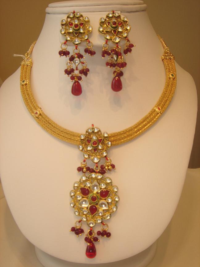 Polki2BJewelery2BSet2B 3  - Polki Jewelery Set - Cute