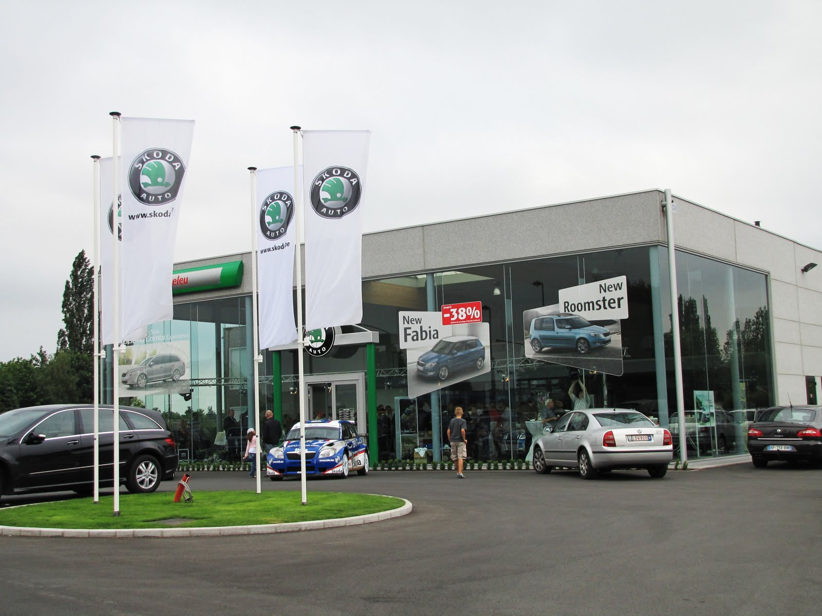 Actualit s mouscron comines portes ouvertes des for Garage skoda nord