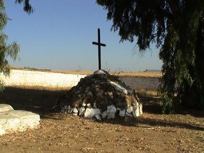 Tumulo funerario. Fotografía de José Pecero Merchán