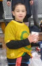 Conner our little football fanatic