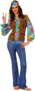 1970's Hippie Costume Flower Child