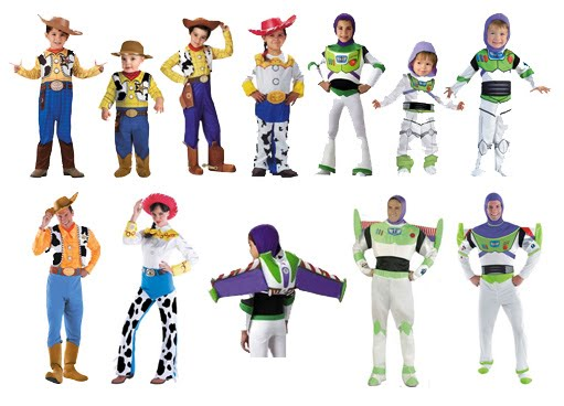 official toy story movie costumes