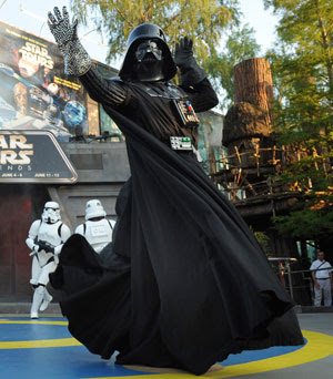 Darth Vader Dancing at the Last Tour to Endor Celebration