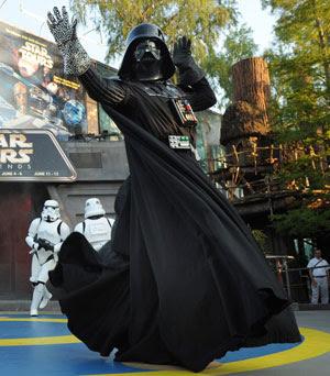 Darth Vader Dancing at the Last Tour to Endor Celebration
