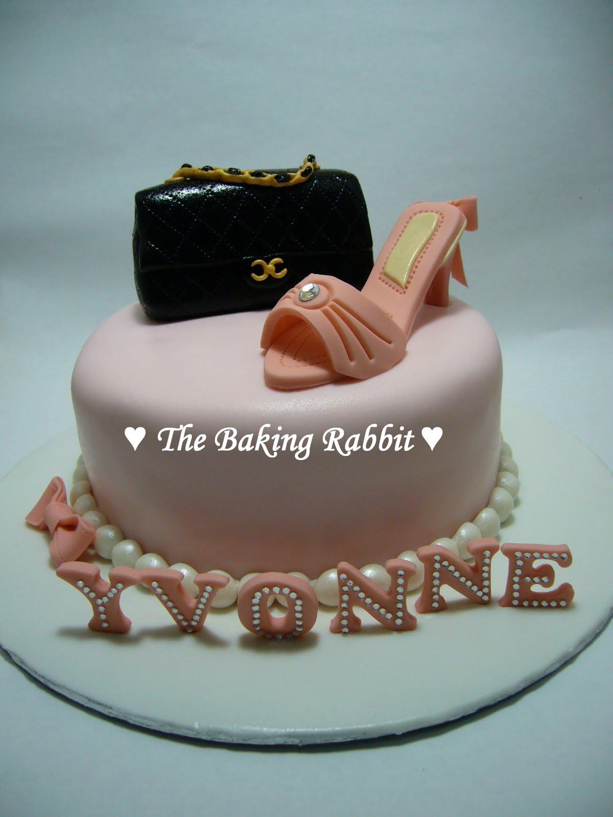 Yvonne s Bridal Shower Cake