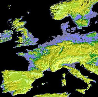 The Map Scroll NASA Creates Best Topographical Map of the World Yet