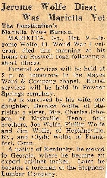 Rome's Obituary